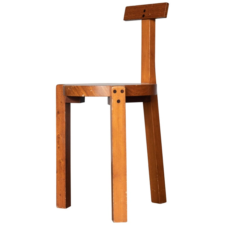 Lina Bo Bardi for Baraúna Giraffe chair, 1980s, offered by Archeologie