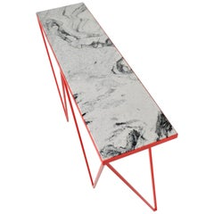 Giraffe Console Table with Granite Top, Made in Britain, Customizable