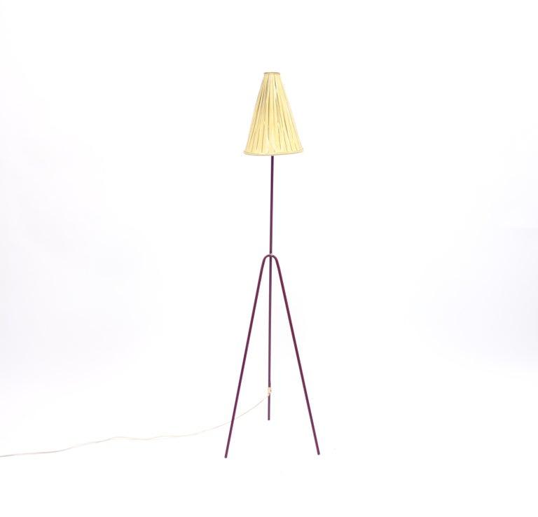 Scandinavian Modern Giraffe Floor Lamp by Hans Bergström for Ateljé Lyktan, 1950s For Sale