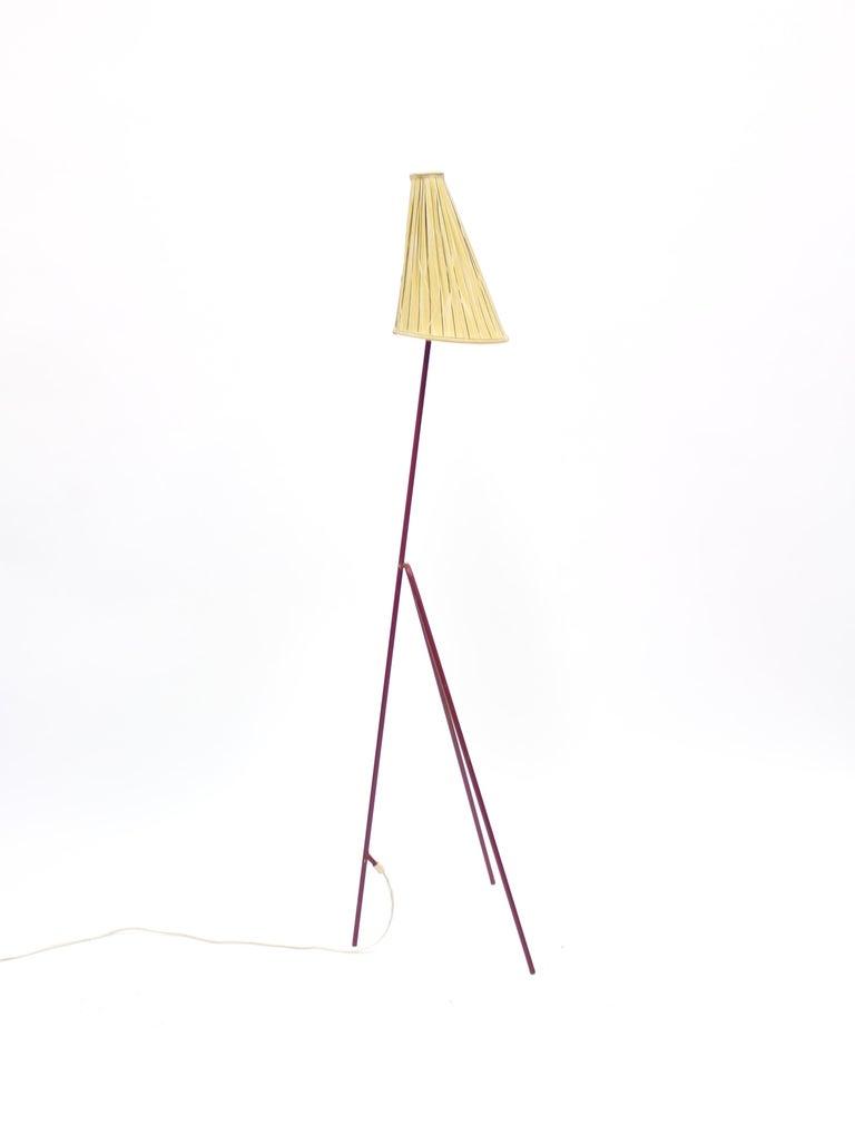Swedish Giraffe Floor Lamp by Hans Bergström for Ateljé Lyktan, 1950s For Sale