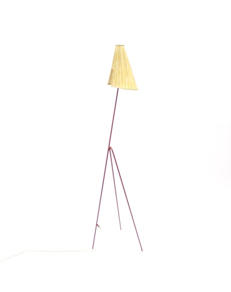 Giraffe Floor Lamp by Hans Bergström for Ateljé Lyktan, 1950s In Good Condition For Sale In Uppsala, SE