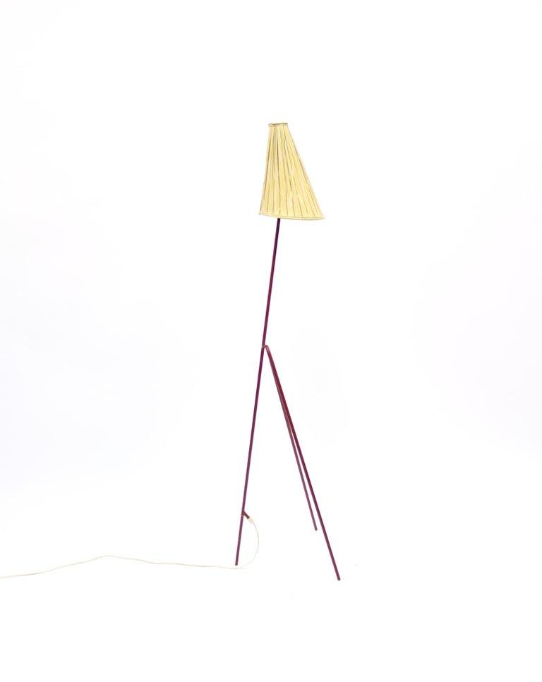 Mid-20th Century Giraffe Floor Lamp by Hans Bergström for Ateljé Lyktan, 1950s For Sale