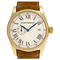 Girard Perragaux Classique 4952, Beige Dial, Certified and Warranty