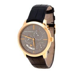 Girard Perragaux Grey 18K Rose Gold 1966 Equation Of Time 49588 Men's Wristwatch