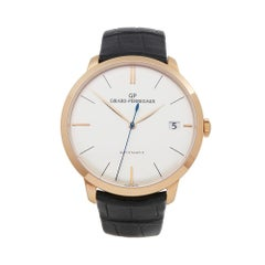 Girard Perregaux 1966 18K Rose Gold 4952752131BK6A Mens Wristwatch