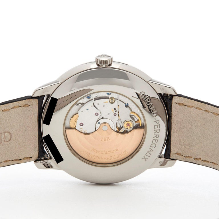 Girard Perregaux 1966 18 Karat White Gold 4952553131BK6A For Sale 2