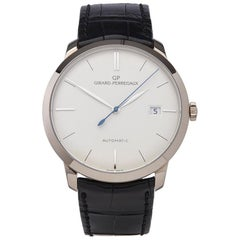 Girard Perregaux 1966 18K White Gold 4952553131BK6A Gents Wristwatch