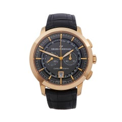 Girard Perregaux 1966 Chronograph 18K Rose Gold 4952952231BA6A Mens Wristwatch