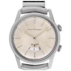 Girard Perregaux Alarm 1475 Stainless Steel Manual Watch