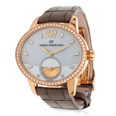 Girard Perregaux Ladies Yellow Gold Cat's Eye Wristwatch