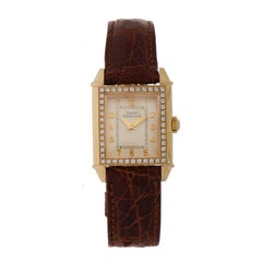Girard-Perregaux Ladies Rose Gold Vintage Manual Wristwatch, 1945