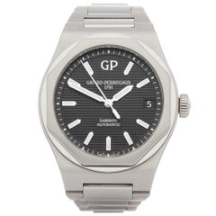 Girard Perregaux Laureato 81010-11-634-11A Men's Stainless Steel Watch