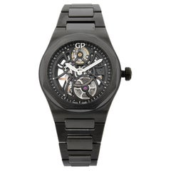 Girard Perregaux Laureato Skeleton Black Ceramic Men's Watch 81015-32-001-32A