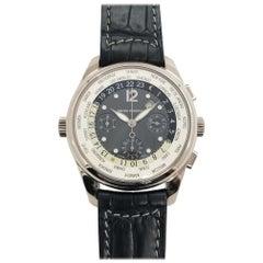 Girard Perregaux Ref 4980 18 Karat White Gold WW TC World Timer