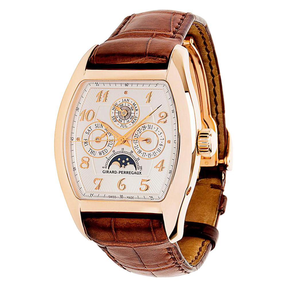 Girard-Perregaux Richeville 2722 Men's Watch in 18 Karat Rose Gold
