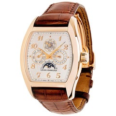 Girard Perregaux Richeville 2722 Men's Watch in 18 Karat Rose Gold