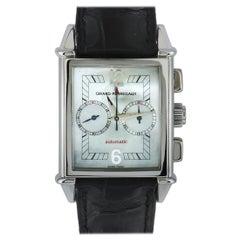 Girard Perregaux Vintage 1945 Chronograph Watch 2599-W/MOP/W