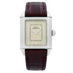 Girard-Perregaux Vintage 1945 Steel Silver Dial Hand-Wind Ladies Watch 25900
