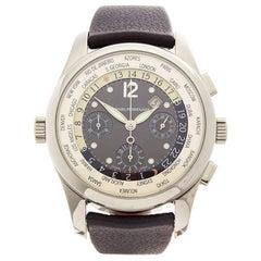 Girard Perregaux WW.TC Chronograph 18 Karat White gold Men's 4900-53-27-42-BA6A