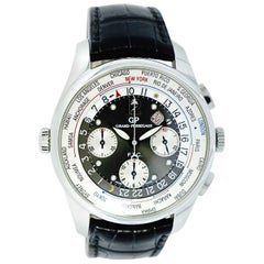 Girard Perregaux WW.TC. Chronograph 49805 in Stainless Steel
