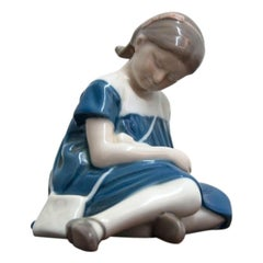 Girl Figurine from Bing & Grøndahl, 1962-1970