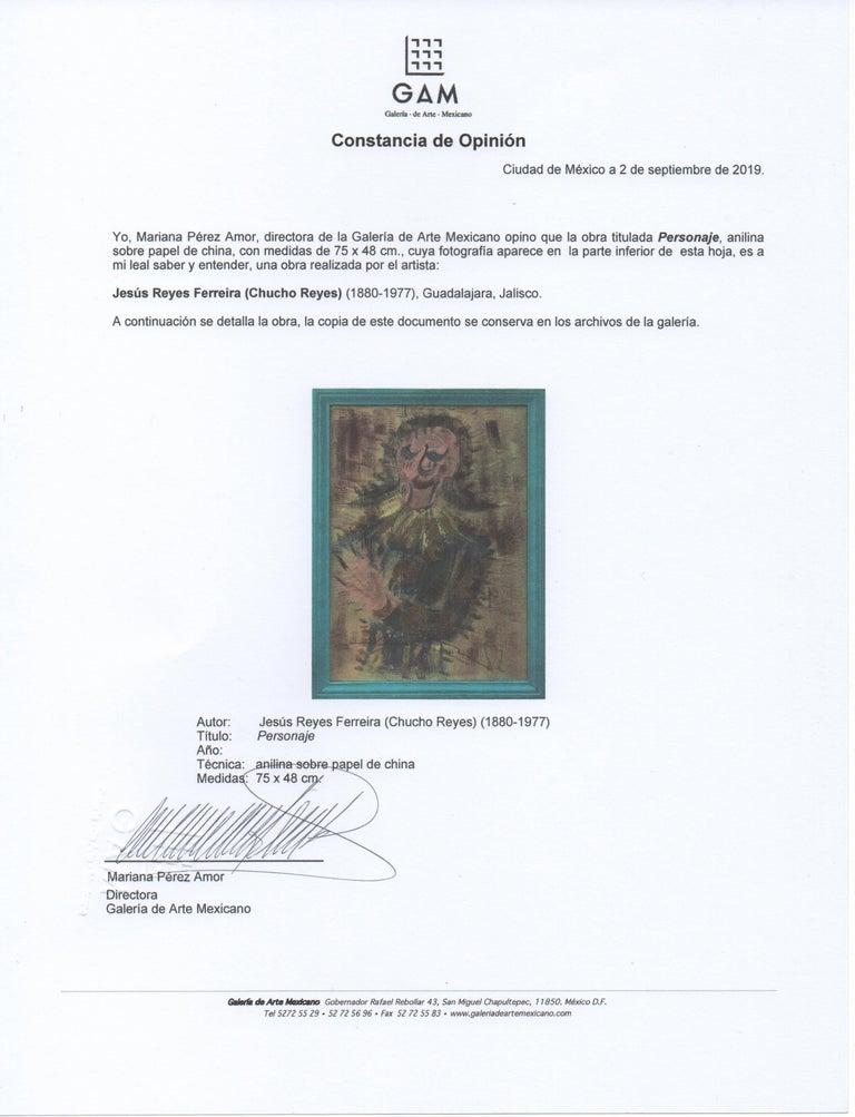Mexican Girl / Niña / Chucho Reyes / Jesús Reyes Ferreira / Papel / Paper For Sale