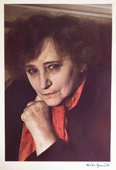 Portrait of Colette, dye transfer print