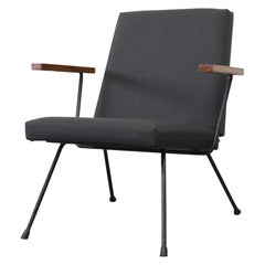 Gispen 1409 Lounge Chair with Arms