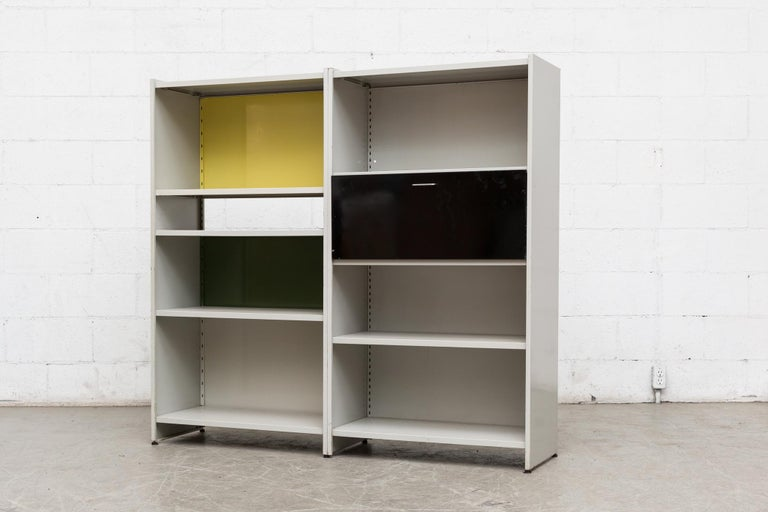 Mid-Century Modern Gispen 5600 Cabinet by A.R. Cordemeyer For Sale