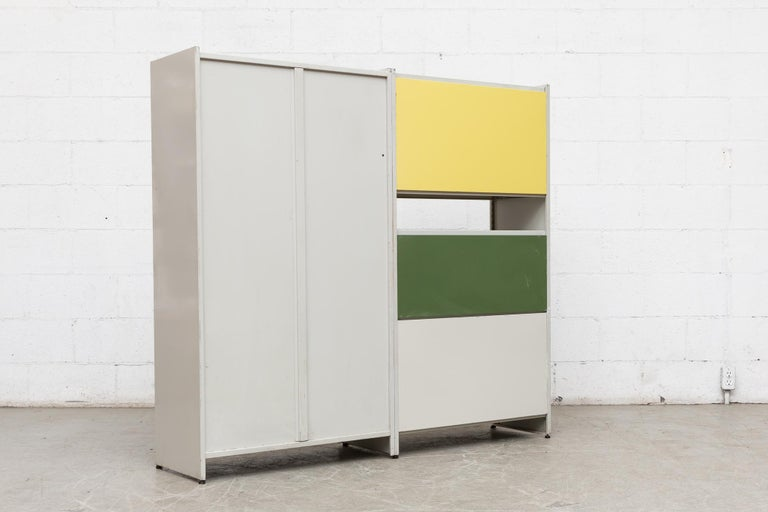 Gispen 5600 Cabinet by A.R. Cordemeyer In Good Condition For Sale In Los Angeles, CA
