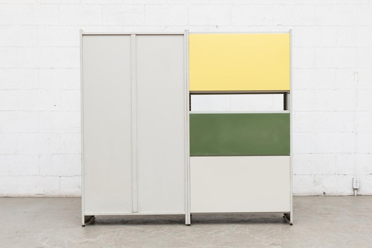 Mid-20th Century Gispen 5600 Cabinet by A.R. Cordemeyer For Sale