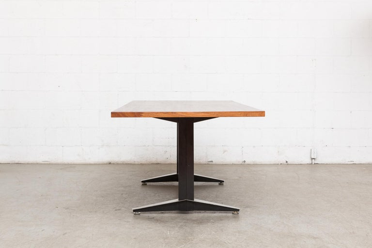 Dutch Gispen Dining or Conference Table