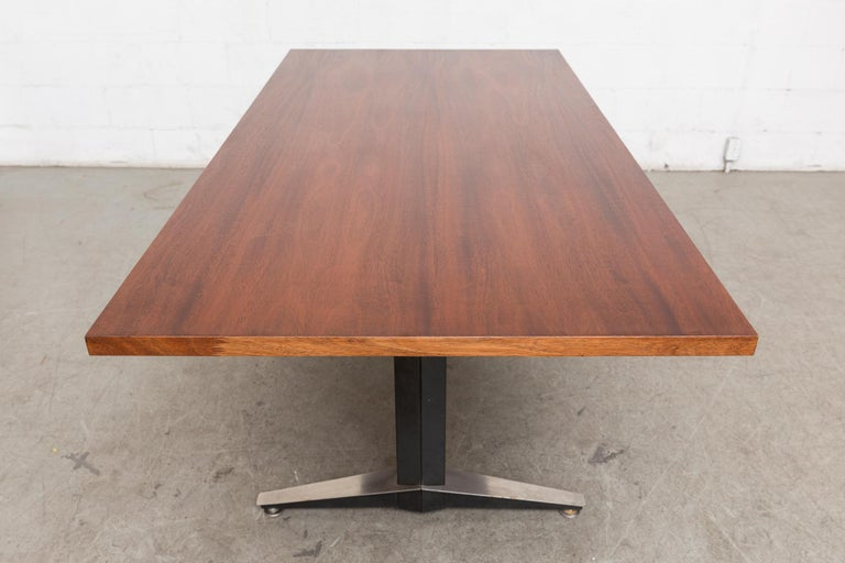 Mid-20th Century Gispen Dining or Conference Table