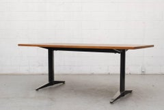 Gispen Industrial Dining or Conference Table