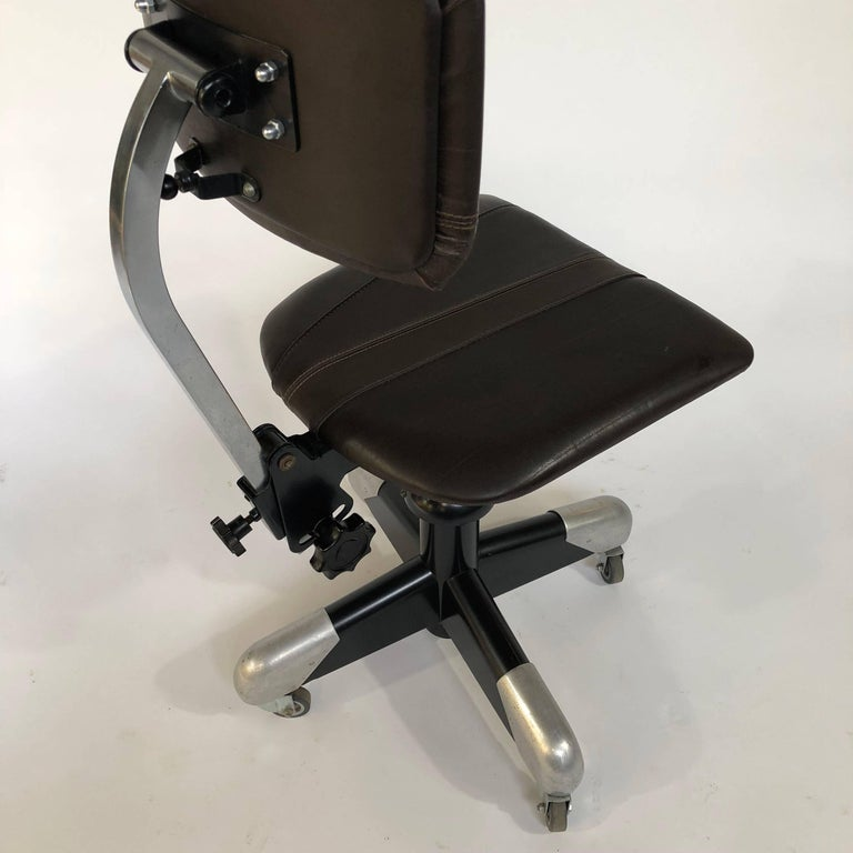 Mid-20th Century Gispen, CH. Hoffmann 1953 Workchair, Writing Chair 359 PQ For Sale