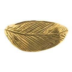Giulia Barela 18 karat gold 'Ramo Leaves' Ring
