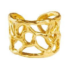 Giulia Barela Jewelry Africa Ring 18 Karat Gold