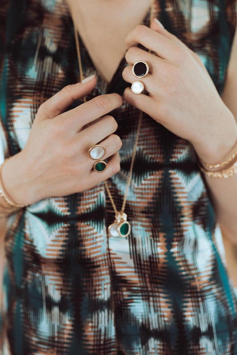 Giulia Barela Jewelry Theda Bara Pendant 18 Karat Gold In New Condition For Sale In Rome, IT