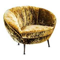 Giulia Gold Armchair