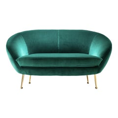 Giulia Green Sofa