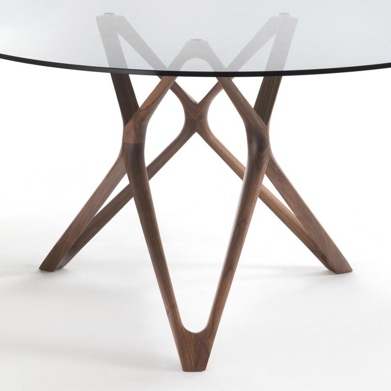 Hand-Crafted Giulia Round Table For Sale