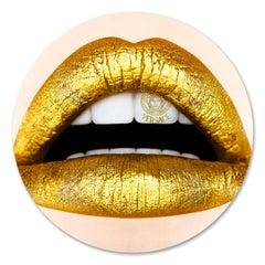 """VERSACE Lips"" Original photography Edition 2/8 by Giuliano Bekor"