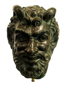 Satiro - Original Bronze Sculpture by Giulio Aristide Sartorio