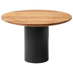 Giulio Cappellini Small Mush Table in Cognac Oak with Oak or Marble Top
