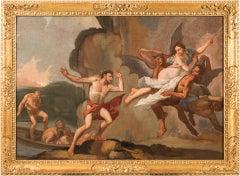17th century Italian figurative painting - Orpheus oil on canvas Venetian figure