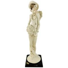 Giuseppe Armani Lady Porcelain Figurine
