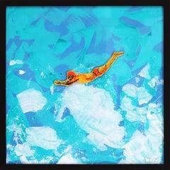 Brave - Ocean Inspired Painting