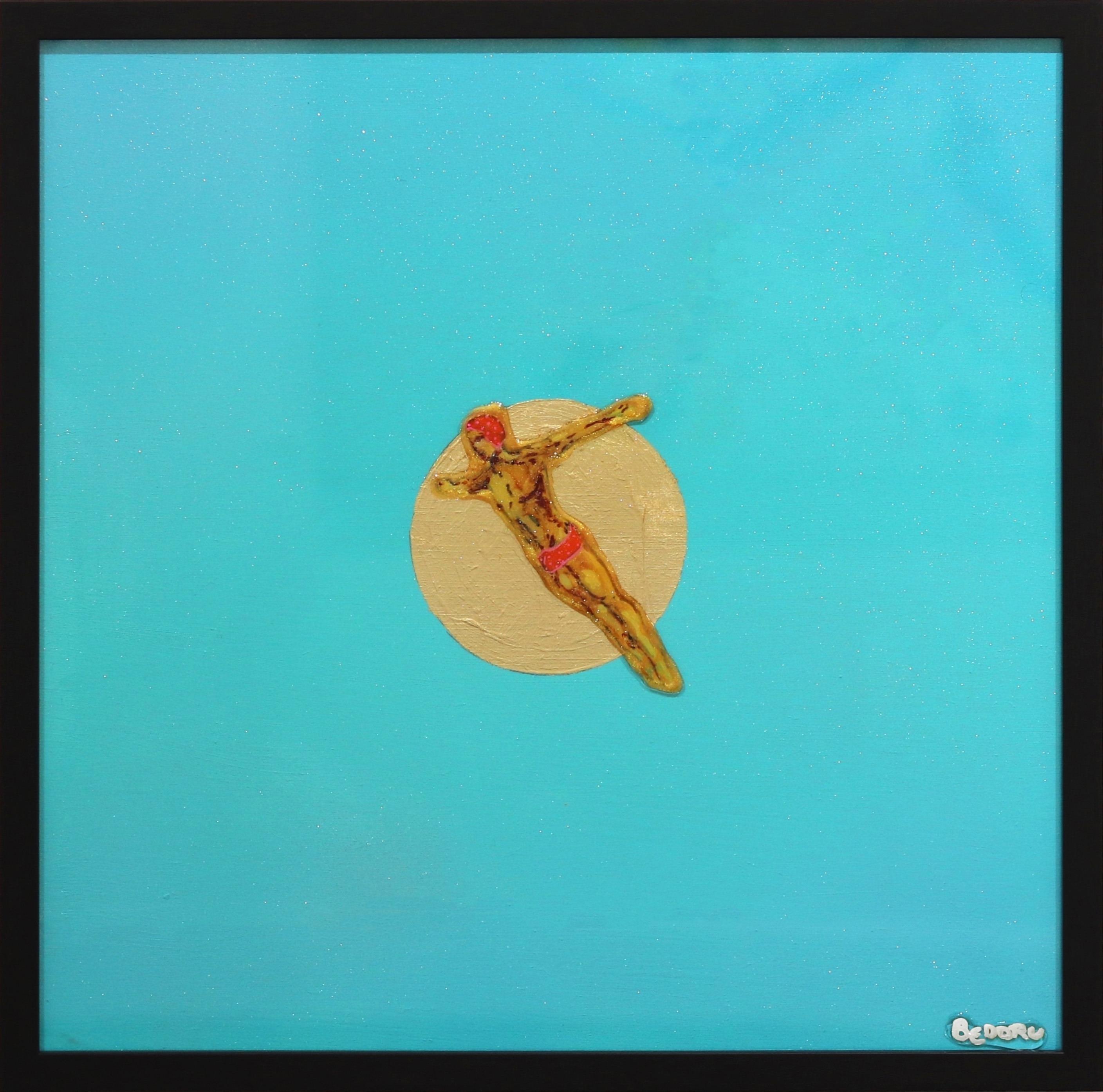 Freedom II - Ocean Inspired Painting