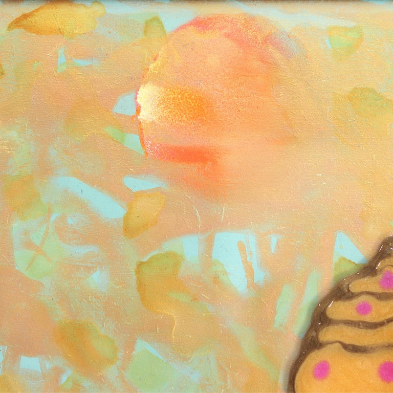 La Donna Di Persia - Modern Painting by Giuseppe Beddru