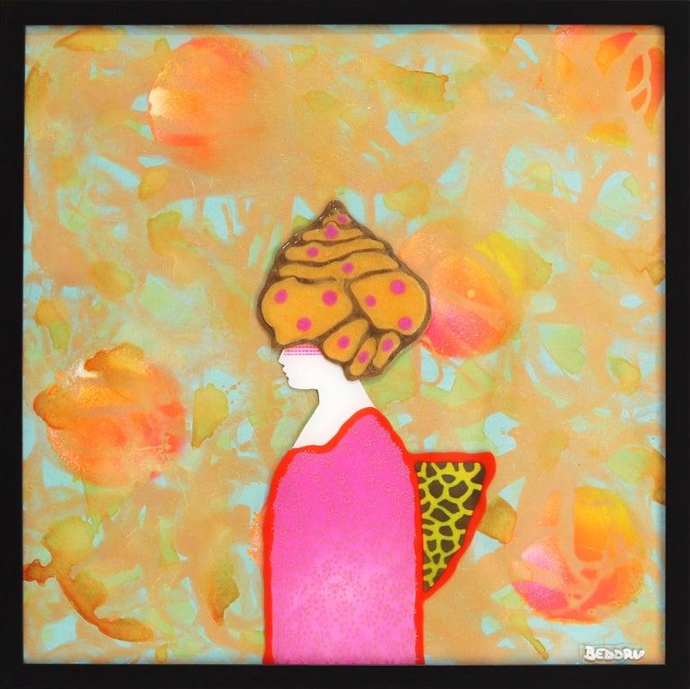 Giuseppe Beddru Figurative Painting - La Donna Di Persia